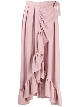 Gianluca Capannolo драпированная юбка с оборками 21EP439250