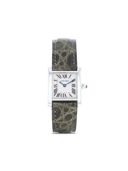 Cartier наручные часы Tank Française pre-owned 20 мм 1990-х годов 373754