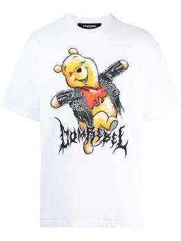 Domrebel футболка Winnie с логотипом HAPPY