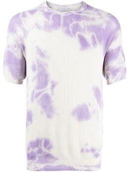 Laneus футболка с принтом тай-дай MGU1420