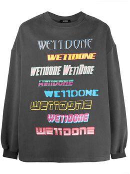 We11Done толстовка с логотипом WDTP519114UCH