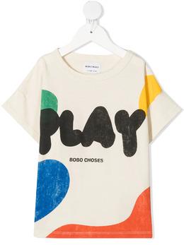 Bobo Choses футболка с принтом Play 121AC008