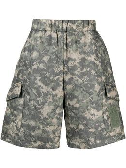 Raeburn стеганые шорты с камуфляжным принтом RM24010R21S