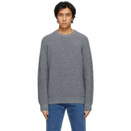 Norse Projects Grey Mouline Roald Sweater N45-0493