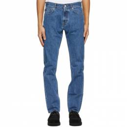 Norse Projects Blue Slim Jeans N30-0101