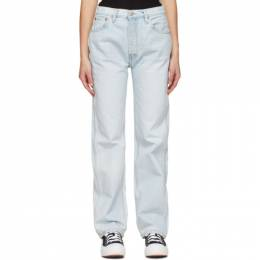 Re/Done Blue 90s High-Rise Loose Jeans 140-3WHRL