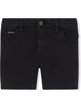 Dolce & Gabbana Kids джинсовые шорты с логотипом L12Q36LY044