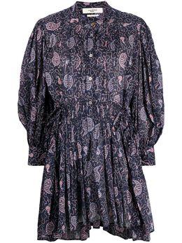 Isabel Marant Etoile платье-рубашка с абстрактным принтом RO186521P031E