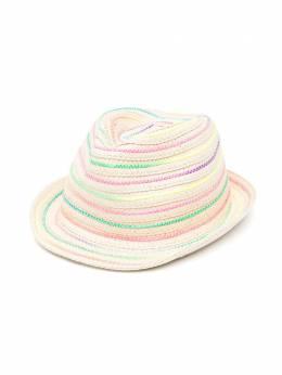 Billieblush плетеная шляпа с контрастной строчкой U11078Z41