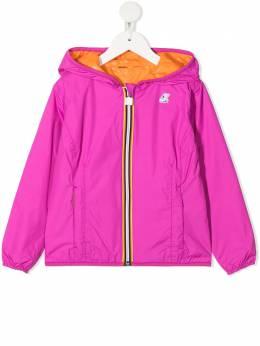 K Way Kids двусторонняя куртка Lily с капюшоном K002XN0