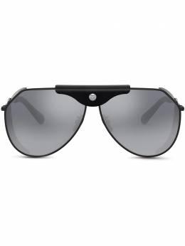 Dolce&Gabbana Eyewear солнцезащитные очки гогглы с логотипом VG2258VM27H