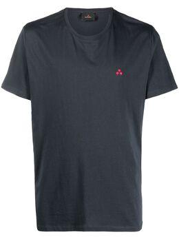 Peuterey футболка с вышитым логотипом PEU406099012110