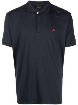 Peuterey рубашка поло с вышивкой PEU394099012084