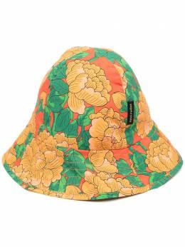 Mini Rodini шляпа из органического хлопка с цветочным принтом 2126511142