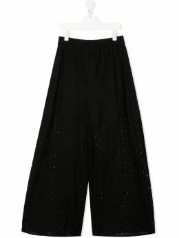 Monnalisa брюки с перфорацией 1774057941