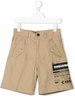 Dsquared2 Kids шорты с логотипом DQ0080D005S