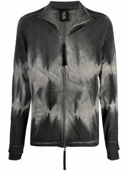 Thom Krom куртка на молнии с принтом тай-дай MSJ452B