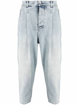 Drole De Monsieur зауженные джинсы с эффектом потертости BP006