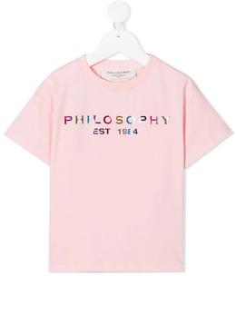 Philosophy Di Lorenzo Serafini Kids футболка с логотипом PJTS40JE95BZH003