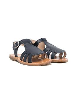 Gallucci Kids сандалии на плоской подошве с пряжками T10011AT