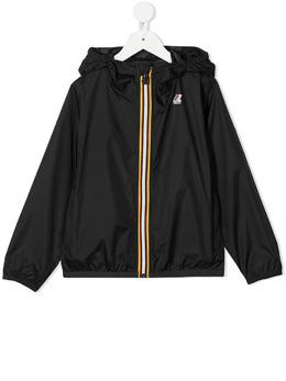 K Way Kids непромокаемая куртка с капюшоном K004BD0