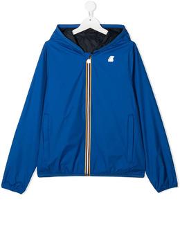 K Way Kids двусторонняя непромокаемая куртка с капюшоном K002XP0