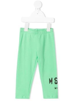 MSGM Kids легинсы с логотипом MS027263