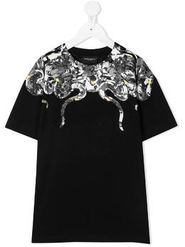 Marcelo Burlon Kids Of Milan футболка с графичным принтом BMB11130010