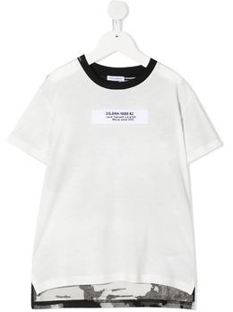Dolce & Gabbana Kids футболка со вставками L4JTDAG7YKQ
