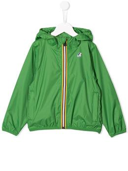 K Way Kids куртка с капюшоном и контрастной молнией K004BD0