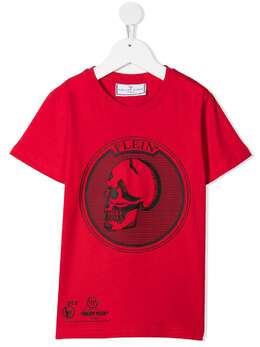 Philipp Plein Junior футболка с логотипом PAACBTK1071PTE003N