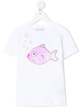 Herno Kids футболка с принтом JTS001K52013