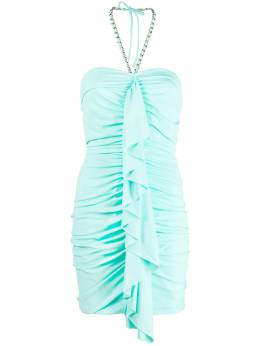 Amen платье мини с вырезом халтер AMS21407