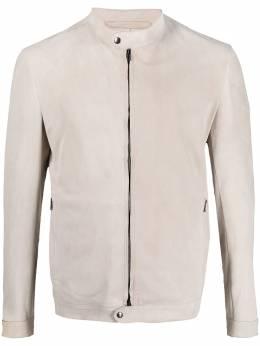 Salvatore Santoro байкерская куртка на молнии 40508UCAM