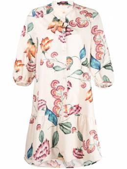 Luisa Cerano платье-рубашка с цветочным принтом 7382053227