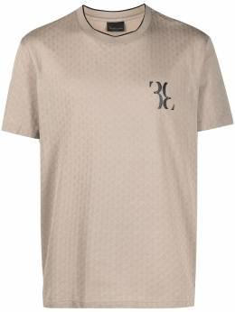 Billionaire жаккардовая футболка Double B IAACMTK5041BTE014N
