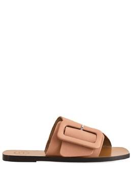 Кожаные Шлёпанцы Ceci 10mm Atp Atelier 73IIJM004-OTM50