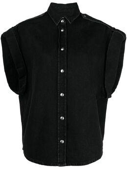 Iro джинсовая рубашка с короткими рукавами 21SWM18ANGLIA