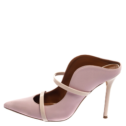 Malone Souliers Light Purple Leather Maureen Sandals Size 38.5 392932