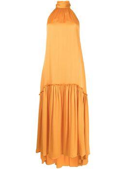 Jonathan Simkhai платье Anessa с вырезом халтер 2211070S