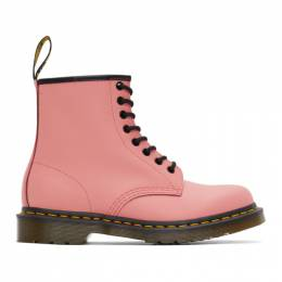 Dr. Martens Pink Smooth 1460 Boots 25714653