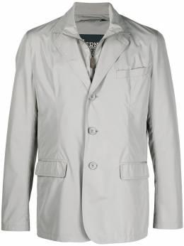 Herno пиджак с многослойным воротником GA0104U12010