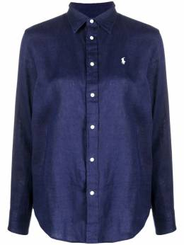 Polo Ralph Lauren рубашка с вышивкой Polo Pony 211827658