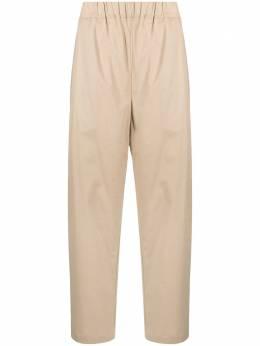 Laneus брюки широкого кроя с эластичным поясом PNU27