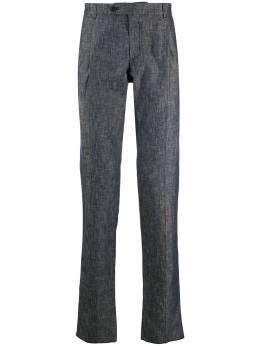 Lardini прямые брюки со складками 4054554251