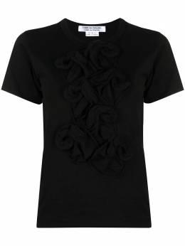 Comme Des Garcons Comme Des Garcons футболка с оборками RGT017051