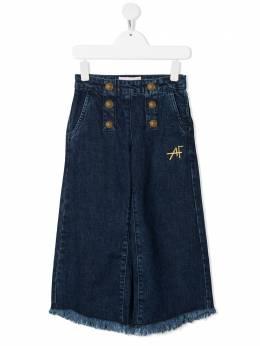 Alberta Ferretti Kids широкие джинсы 027845