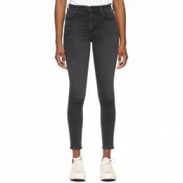 Citizens Of Humanity Black Mid-Rise Rocket Ankle Jeans 1616-1149*
