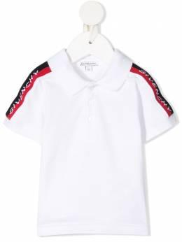 Givenchy Kids рубашка поло с логотипом H0516010B