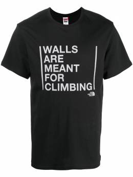 The North Face футболка Walls Are Meant For Climbing NF0A3S3S0GY1
